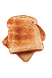 Golden brown buttered toast Royalty Free Stock Images