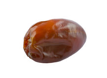 Golden brown date fruit Royalty Free Stock Images