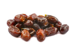 Golden brown date fruits Stock Photo