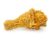 Golden brown fried chicken Stock Photo