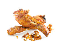 Golden brown fried chicken Royalty Free Stock Photography