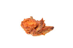 Golden brown fried chicken drumsticks Royalty Free Stock Photos