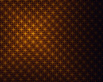Golden brown light abstract pattern - antique style background Stock Photo