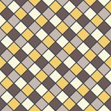 Golden brown mosaic background Royalty Free Stock Photography
