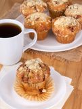 Golden Brown Muffin Stock Images