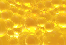 Golden Bubbles Royalty Free Stock Image