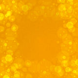 Golden bubbles Stock Images
