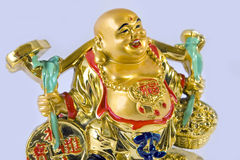 Golden budda Stock Photo