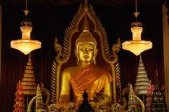 golden budda statue Stock Images