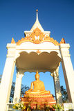 Golden budda statue Royalty Free Stock Images