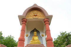 Golden budda statue Stock Photography