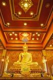 Golden budda statue Stock Image