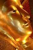 Golden Buddah. Shot of a golden Buddha.  From Thailand Stock Image