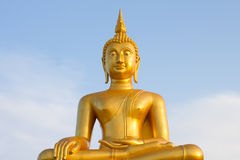 Golden buddah Stock Photos