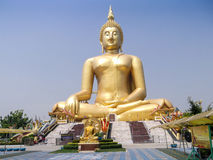 Golden buddah Stock Photography