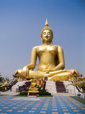 Golden buddah Stock Photo