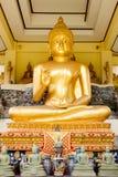 Golden buddas. At chantaburi thailand Royalty Free Stock Image