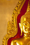The golden buddha. In Bangkok, Thailand Stock Images