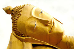 Golden Buddha. Royalty Free Stock Photography