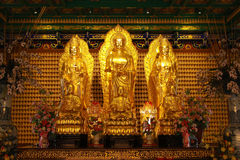 The golden buddha Royalty Free Stock Images