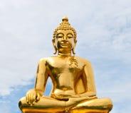 Golden Buddha . Stock Photos