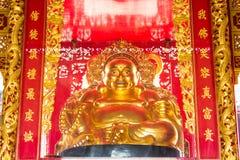 Golden buddha Royalty Free Stock Photography