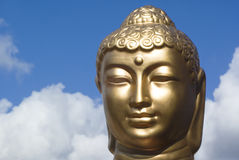 Golden buddha. Stock Photography