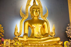GOLDEN BUDDHA. In Bangkok, Tailand royalty free stock photo