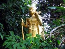 Golden Buddha. A statue of Buddha in Chiang Mai, Thailand Stock Photos