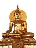 Golden buddha in Thailand Royalty Free Stock Photo