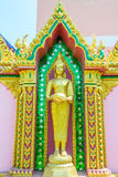 Golden Buddha backgrounds Royalty Free Stock Images