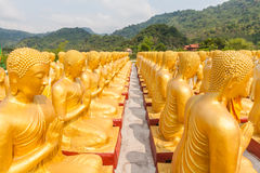 Golden buddha at Buddha Memorial park Stock Images