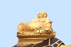 Golden Buddha cash Royalty Free Stock Images