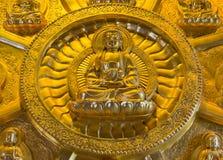 Golden Buddha, Chinese style Stock Image