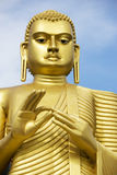Golden Buddha, Dambulla, Sri Lanka Stock Image