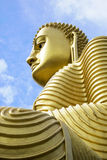 Golden Buddha, Dambulla, Sri Lanka Royalty Free Stock Photo