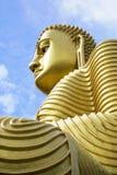 Golden Buddha, Dambulla, Sri Lanka Royalty Free Stock Photo