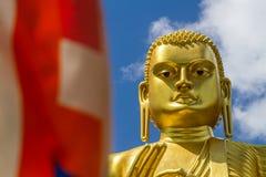 Golden Buddha, Dambulla, Sri Lanka Stock Photography