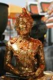 Golden Buddha Detail. At Grand Palace, Bangkok, Thailand Royalty Free Stock Photos