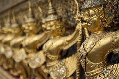 Golden buddha. Dettail of golden buddha, Thailand Royalty Free Stock Image