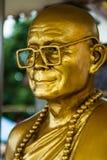 Golden buddha. Dettail of golden buddha, Thailand Stock Photo