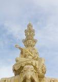 The golden buddha of Emeishan Stock Photos