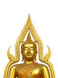 Golden Buddha half body Stock Image
