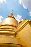 Golden buddha icon Royalty Free Stock Photo