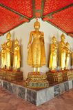 Golden Buddha image Stock Photos