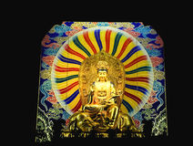 Golden Buddha image Royalty Free Stock Photo