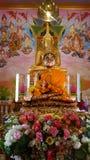 Golden Buddha image Royalty Free Stock Images