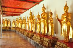 Golden Buddha image,thailand Stock Photography