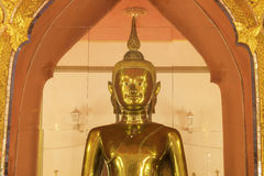 Golden buddha image Royalty Free Stock Photos