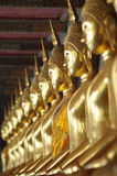 Golden Buddha images Stock Photo